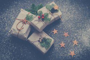 julegaver indpakket