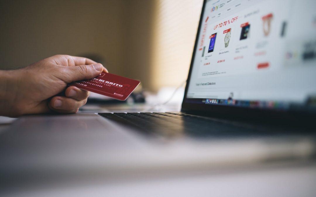 kreditkort og bærbar