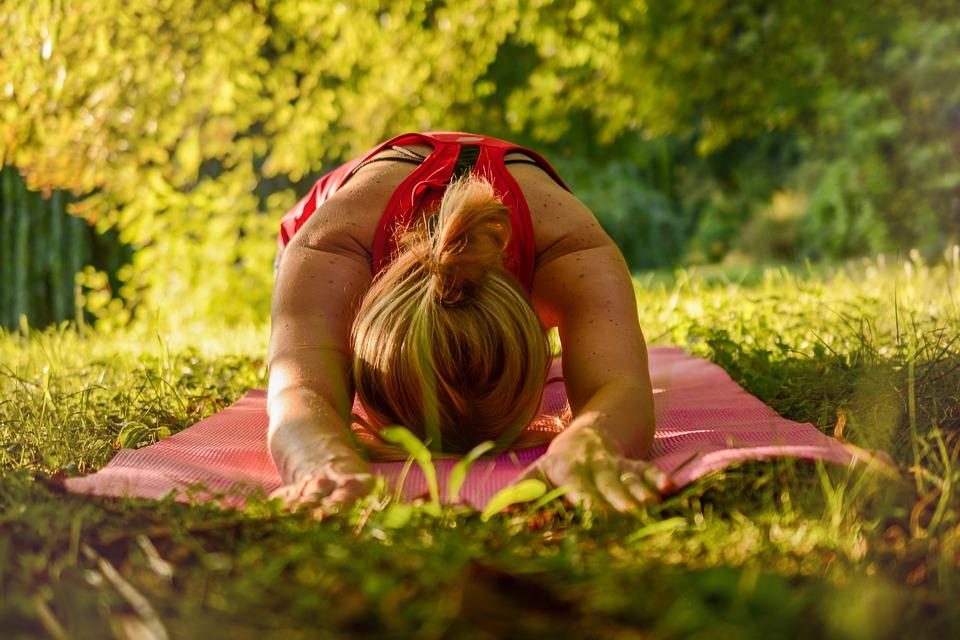 udendørs yoga